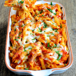 DeLallo Winter Recipes: 1...2...3... Cheesy Baked Ziti