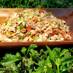 Delicious Black Eyed Pea Salad