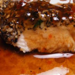 Delicious Bourbon Chicken Glaze