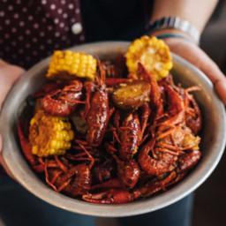 Delicious Crawfish Boil