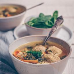Delicious + Easy Vegan Italian Wedding Soup