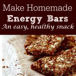 Delicious Homemade Energy Bars