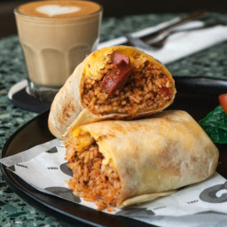 Delicious Mexican Burrito