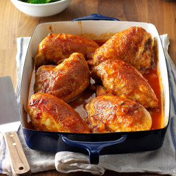 Delicious Oven Barbecued Chicken