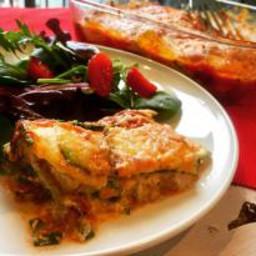 Delicious Zucchini Lasagna (Gluten-Free, Paleo Optional)