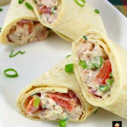 Deluxe Chicken Salad Wraps