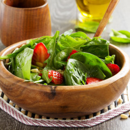 Denali's Strawberry Spinach Salad