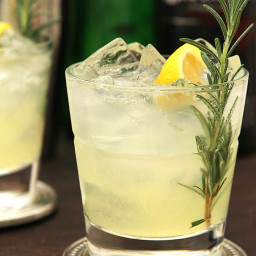 Denver Restaurant Olivéa's Ophelia Cocktail – Gin, Rosemary Simple Syrup an