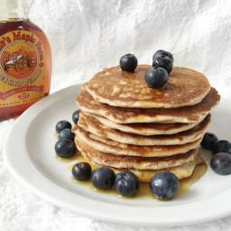 Des pancakes sans whey et sans banane