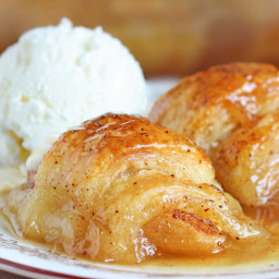 Dessert - Apple Crescent Dumplings