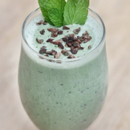 Dessert - Chocolate Mint Milkshake
