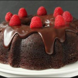 Dessert - Chocolate Raspberry Bundt Cake