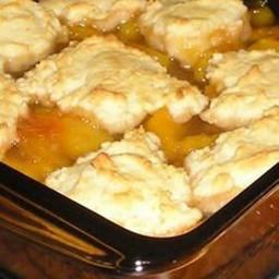 Dessert - Fresh Peach Cobbler