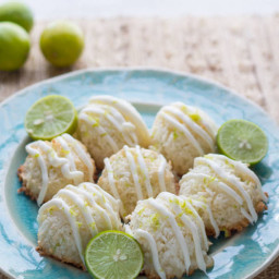 Dessert - Lime-in-the-coconut Macaroons