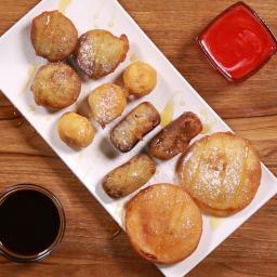 Dessert Pakoras Recipe by Tasty