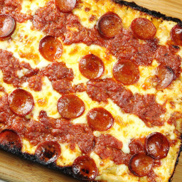 Detroit-Style Pan Pizza Recipe