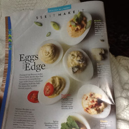 Deviled Eggs with Edge