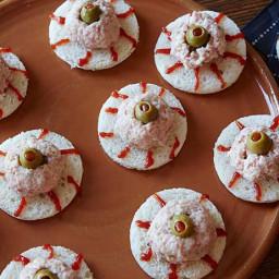 Deviled Ham Eyeball Sandwich