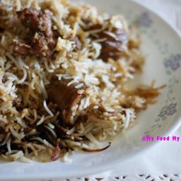 Dhakai Kacchi Biryani