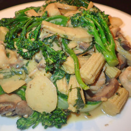 Dijon Broccoli Chicken Stir Fry