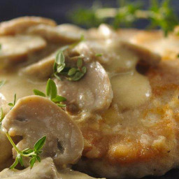 Dijon Chicken Smothered in Mushrooms