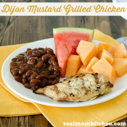 Dijon Mustard Grilled Chicken