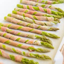 Dijon Wrapped Asparagus