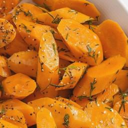 Dill-Glazed Carrots