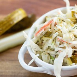 Dill Pickle Slaw