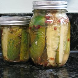 Dill Pickles By the Jar
