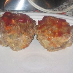 Diner Meat Loaf muffins (6 Points)