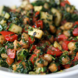 Dinner Tonight: Lemony Chickpea Stir-Fry