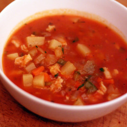 Dinner Tonight: Manhattan Clam Chowder