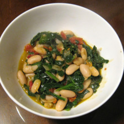 Dinner Tonight: Spanish White Beans with Spinach and Sun-Dried Tomatoes Rec
