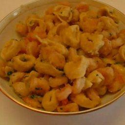 Dinnertime Shrimp Tortellini