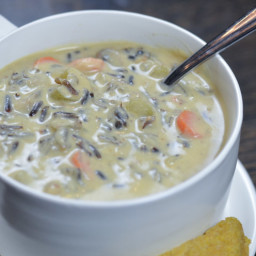 Dino's Famous Wild Rice Soup
