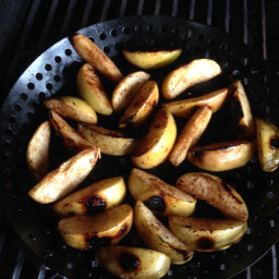Di's Grilled Apple Slices