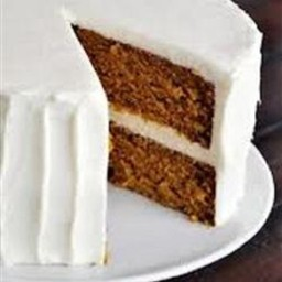 Dixie Spice Cake w/Cream Cheese Frosting