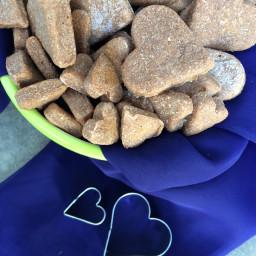 DIY Dog Treats - Two Ingredient Recipes #atozchallenge