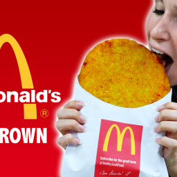 DIY GIANT McDonalds HASHBROWN