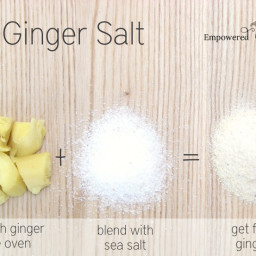 DIY Ginger Salt