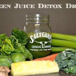 DIY Green Juice Detox Drink