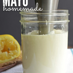 DIY Homemade Mayo in 2 Minutes + Tips for Success