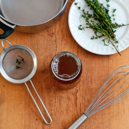 DIY: Honey Thyme Cough Syrup