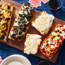 DIY Pizza Party! Customize Your Sauce, Cheese, & Toppings
