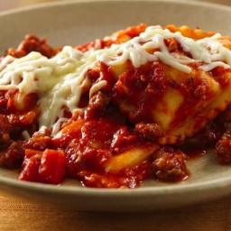 Do-Ahead Ravioli Sausage Lasagna