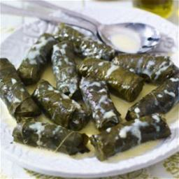 Dolmades - Authentic Greek Stuffed Grape Leaves W/ Meat (Souther