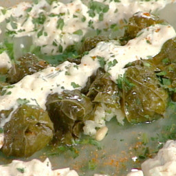 Dolmades: Stuffed Grape Leaves