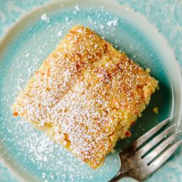 Domenica Marchetti's Carrot Polenta Cake with Marsala