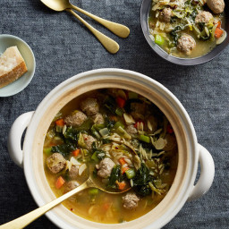 Donabe Italian Wedding Soup